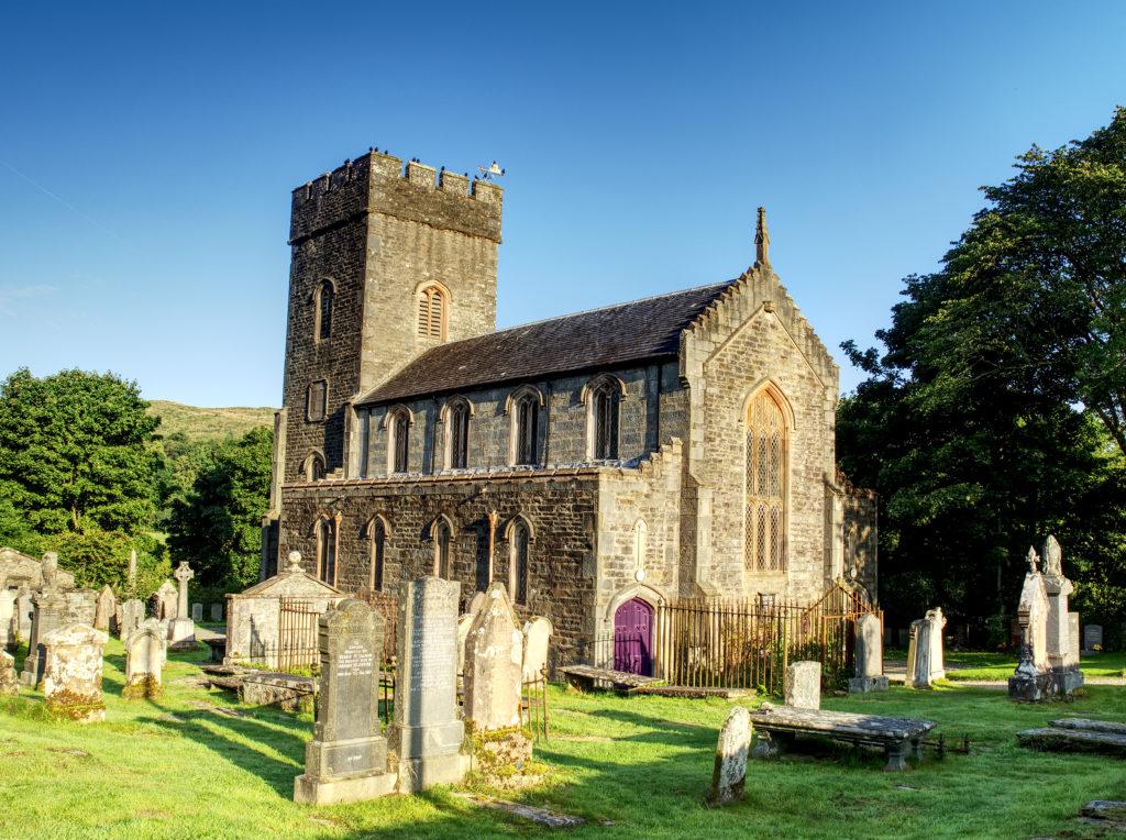 Angel steps in to save Kilmartin Church