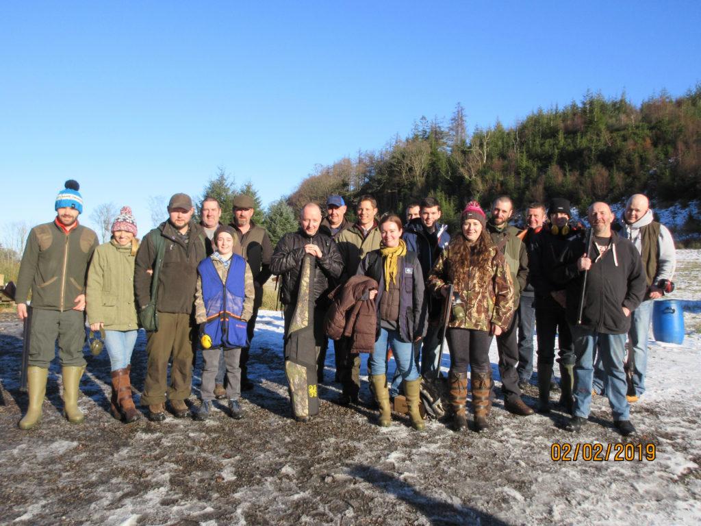Struggles in snow at Tarbert Gun Club
