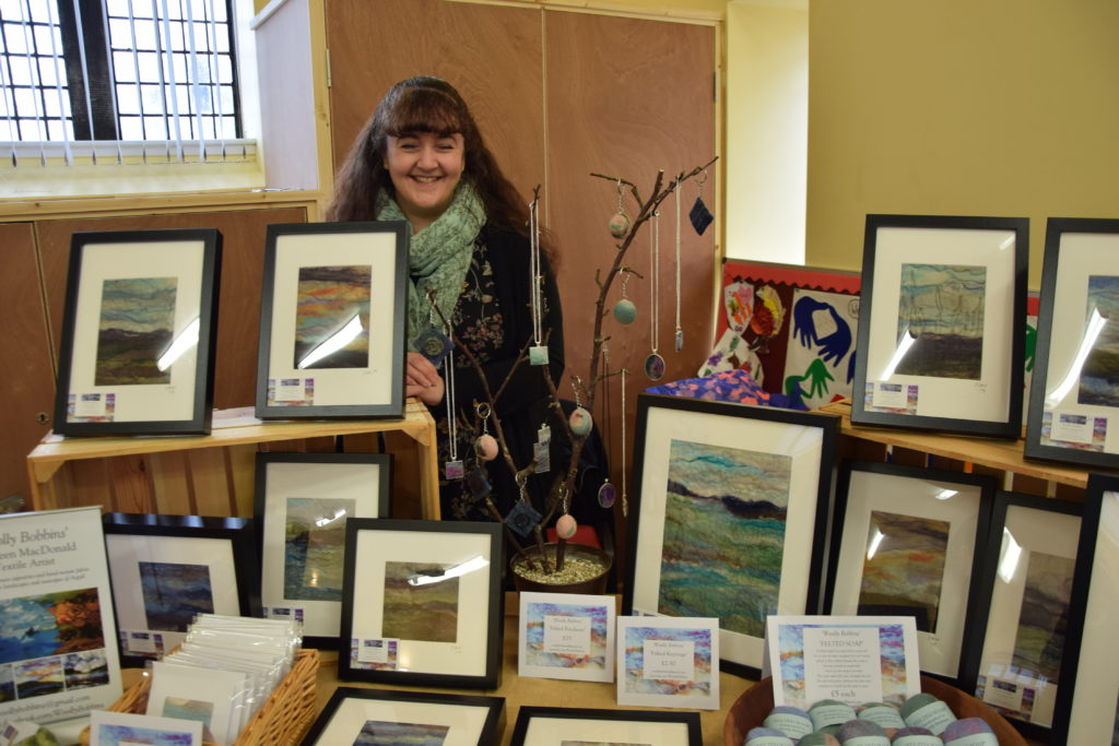 Homemade crafts and treats at Lochgilphead's craft fair