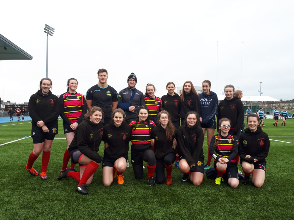 Mid Argyll rugby youngsters lead Oban to victory