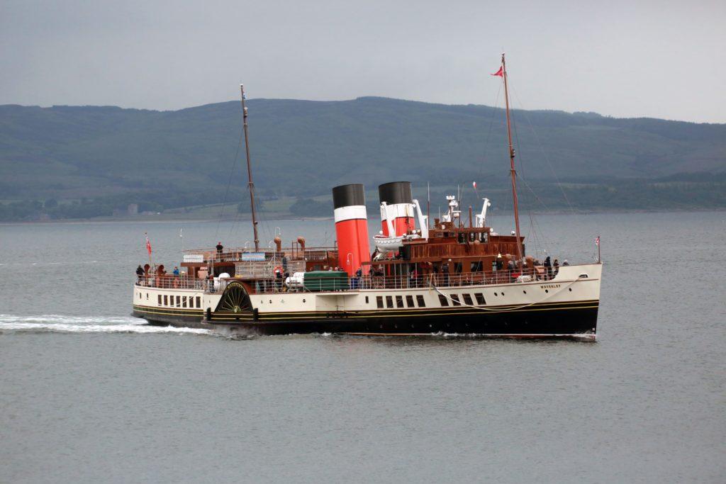 Full steam ahead as Waverley makes for Ardrishaig