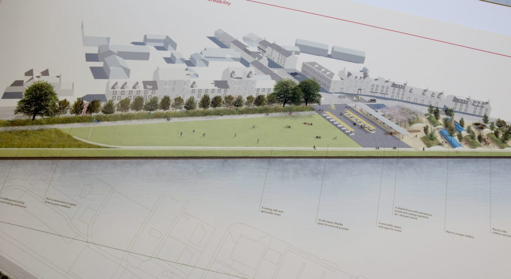 Lochgilphead front green plans looking 'positive'