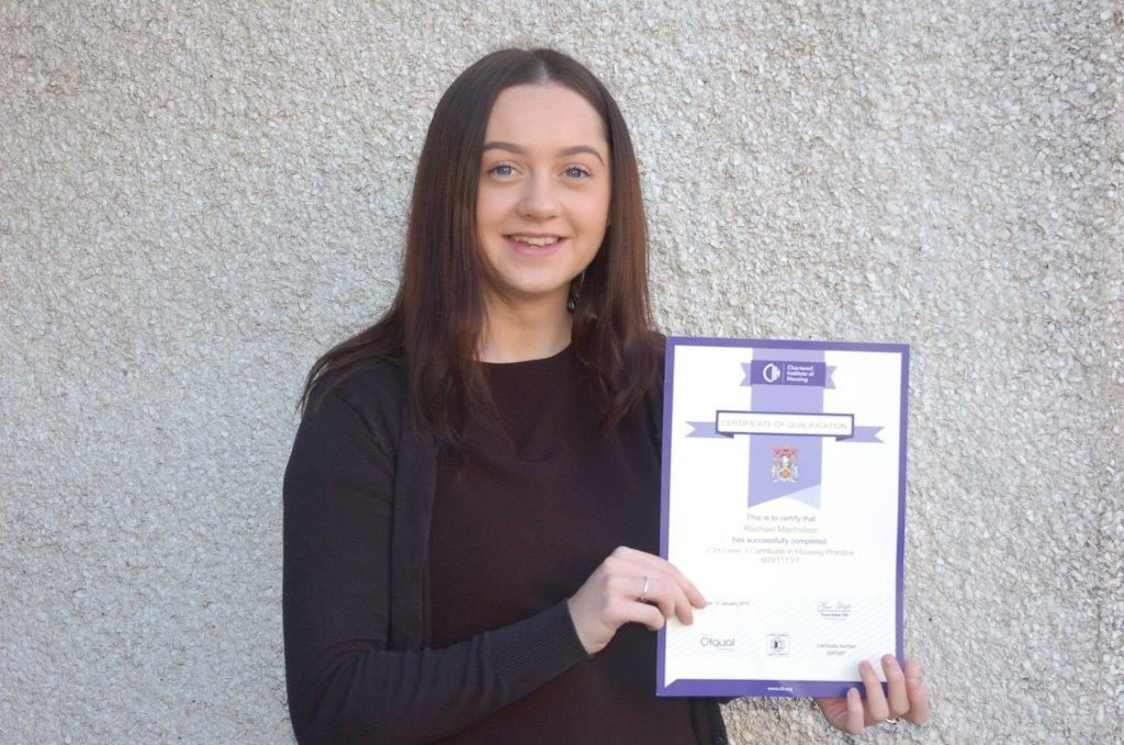 Student receives ACHA apprentice award