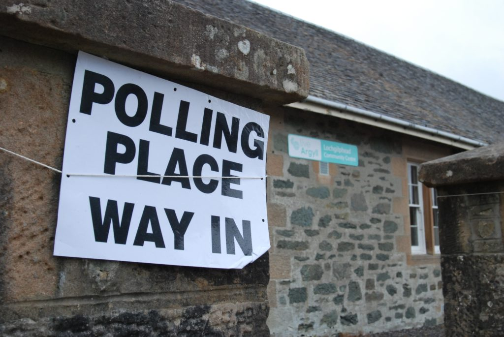 Argyll votes in (perhaps) our final Euro election