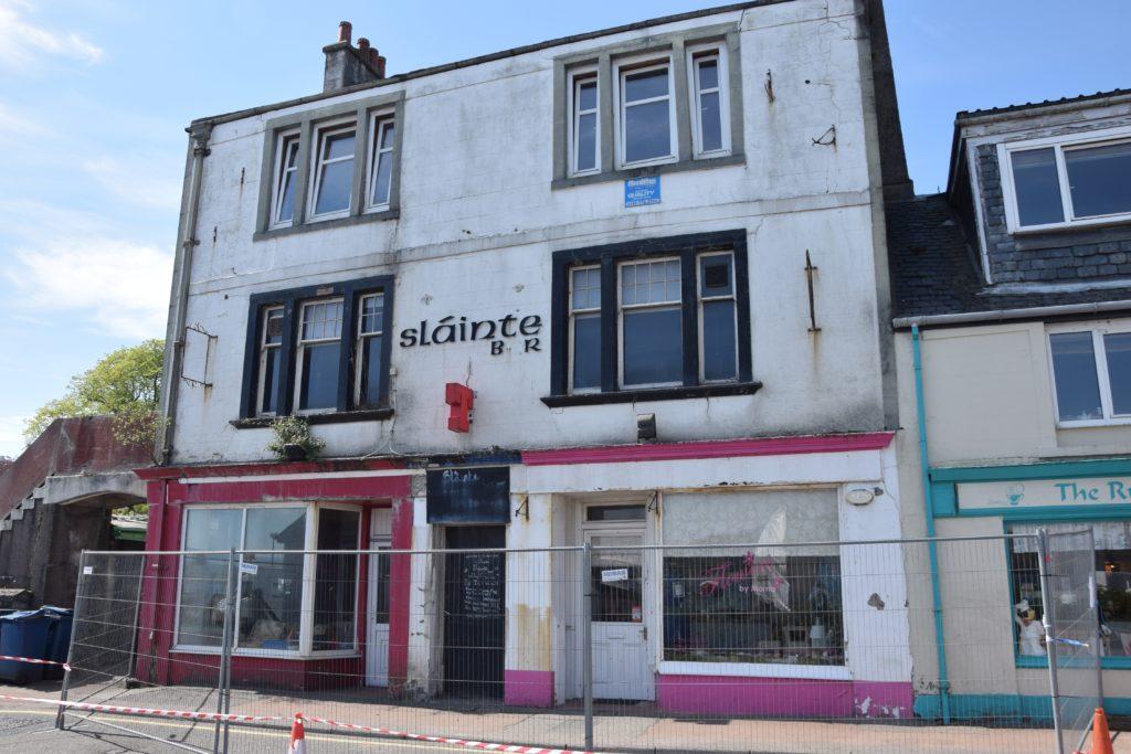 Co-owner 'ignored' pleas over dangerous Ardrishaig building