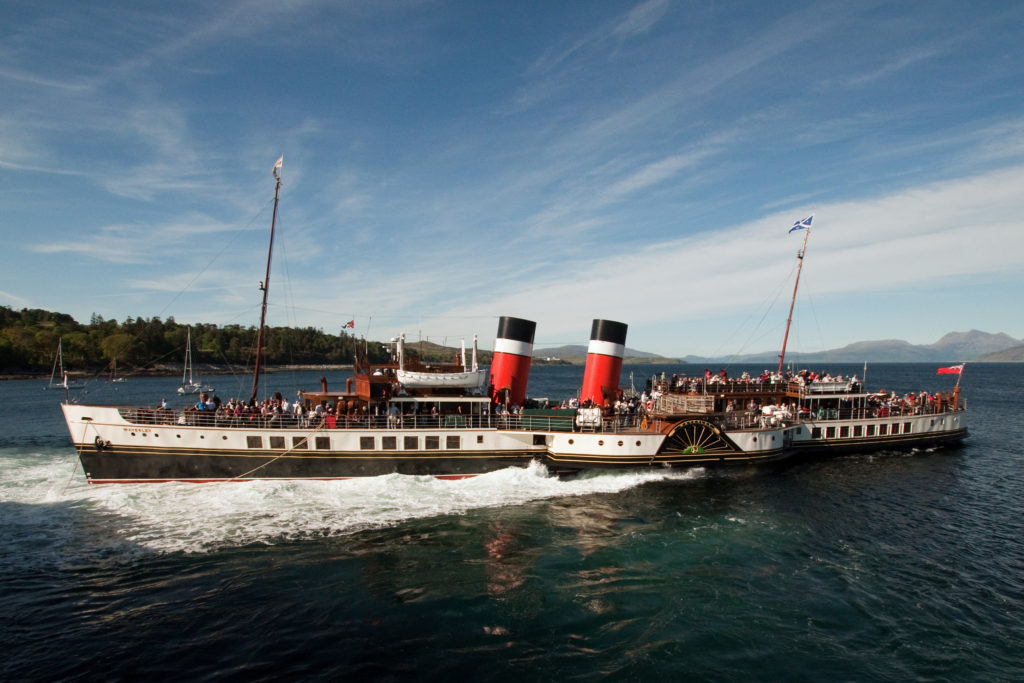 Waverley cancels summer sailings – but she's still coming to Ardrishaig