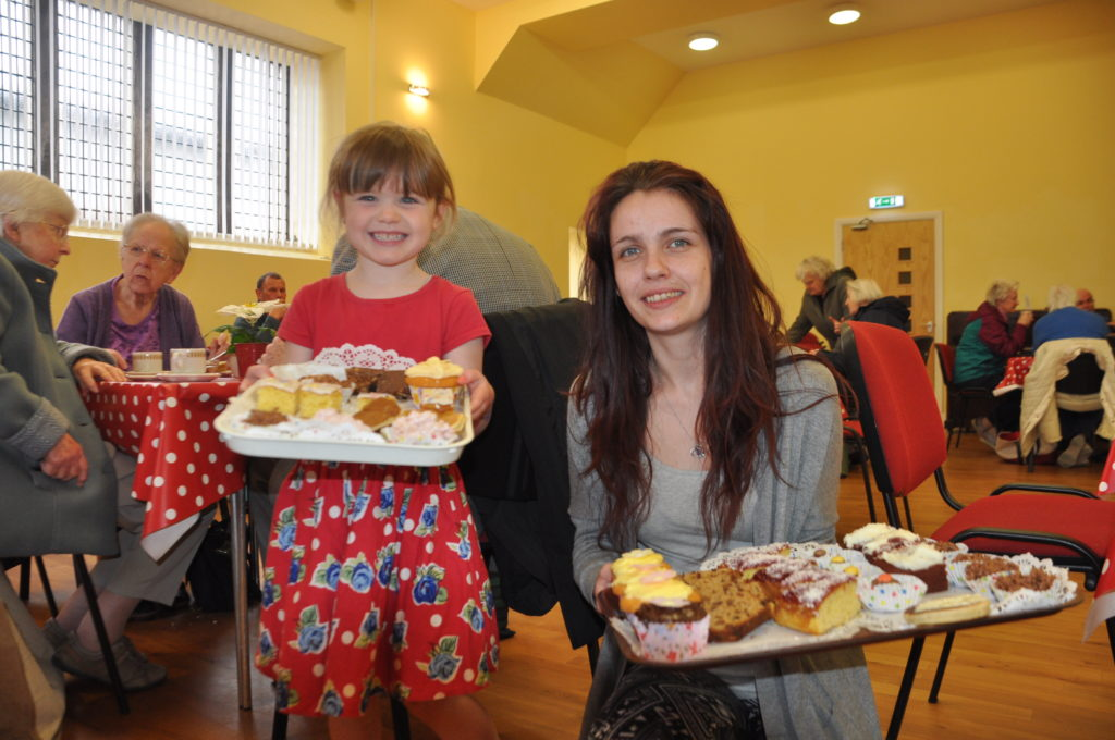 Great cake and good craic at Lochgilphead Parish Church Hall