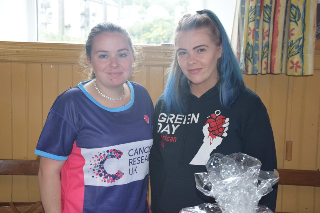 Dynamic duo raise funds for Cancer Research UK