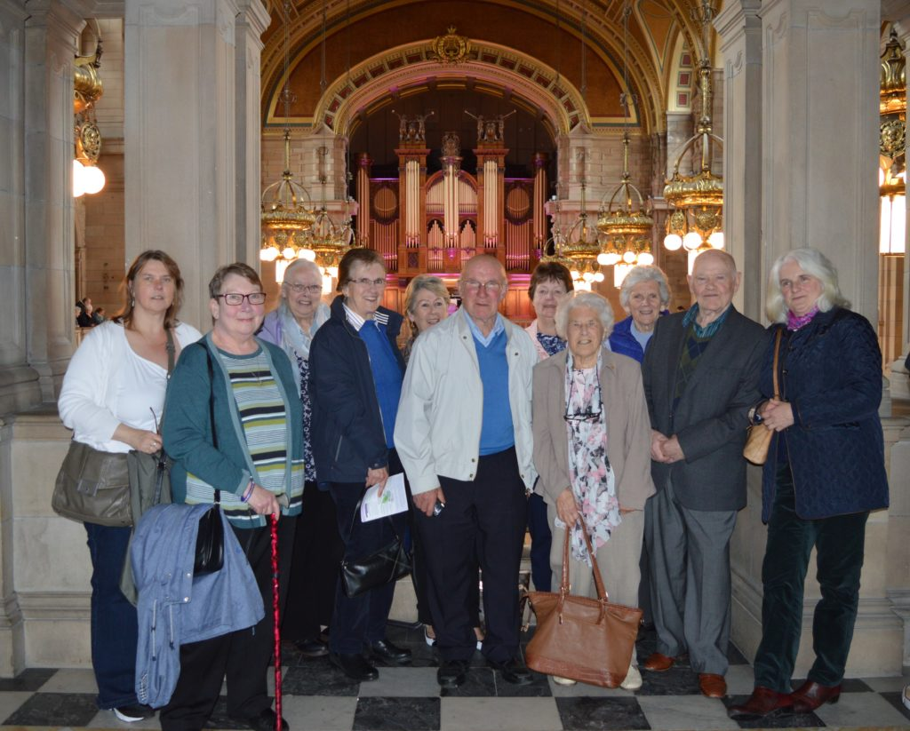 Inveraray Senior Citizens gain culture at Kelvingrove