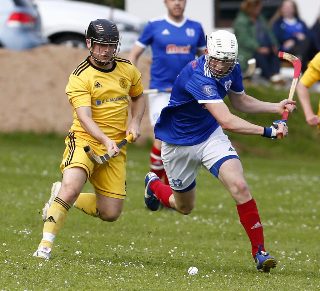 Kyles defeat Inveraray in Camanachd Cup