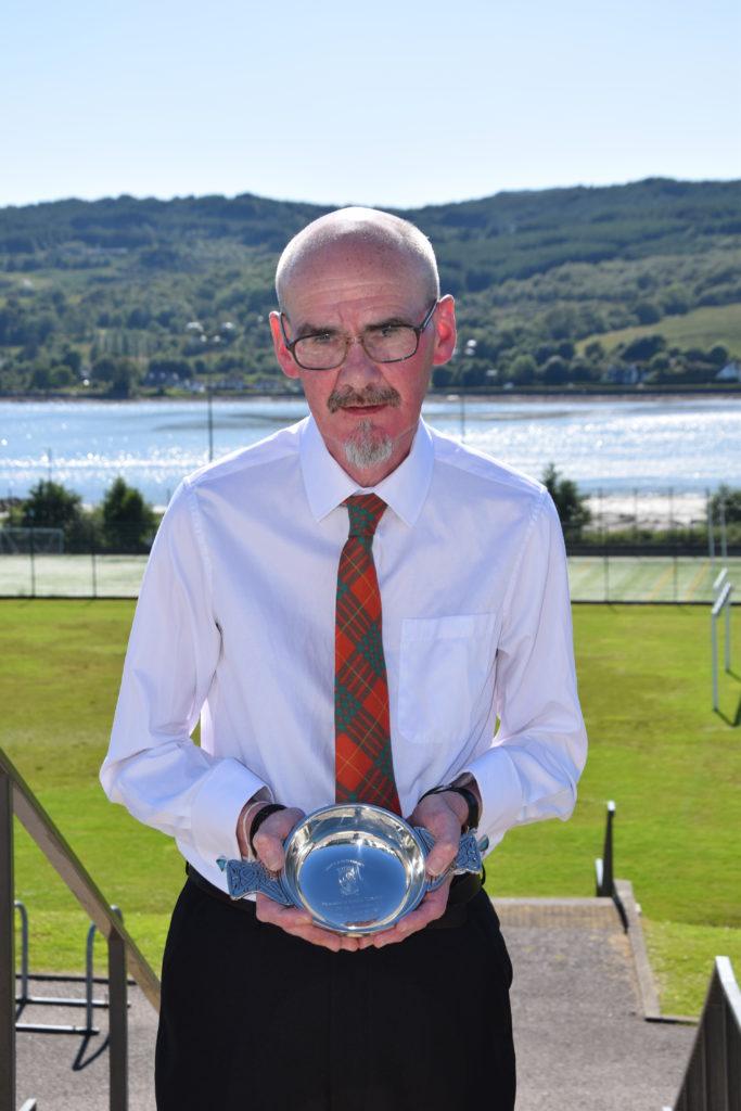 Ronnie Cameron retires from Lochgilphead High School