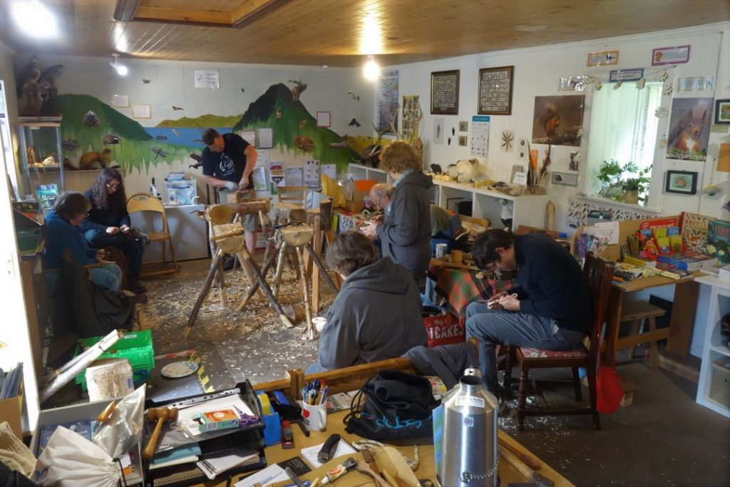 The Fyne Stirrers hold open day in Barnluasgan