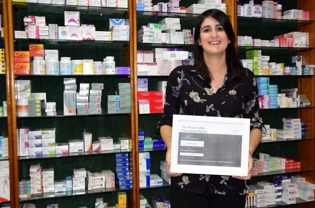 Meet Lochgilphead's new pharmacist