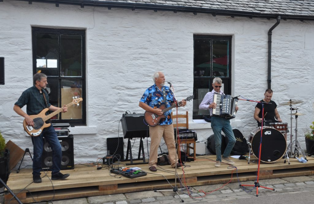 The Easy Club entertains at Egg Shed launch