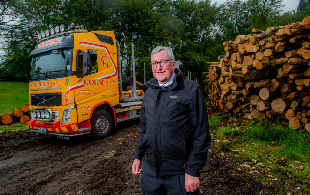 Timber cash to ease lorry burden on Argyll roads