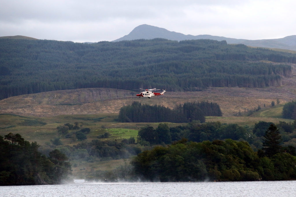 One man missing after boat capsizes on Loch Awe