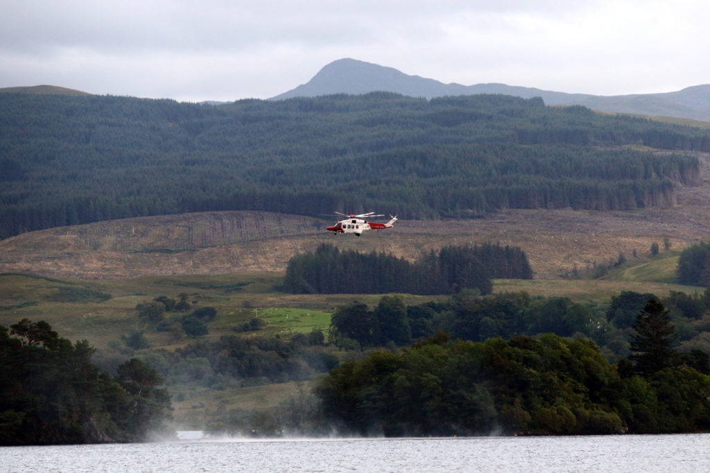 Loch Awe search resumes for 23-year-old man