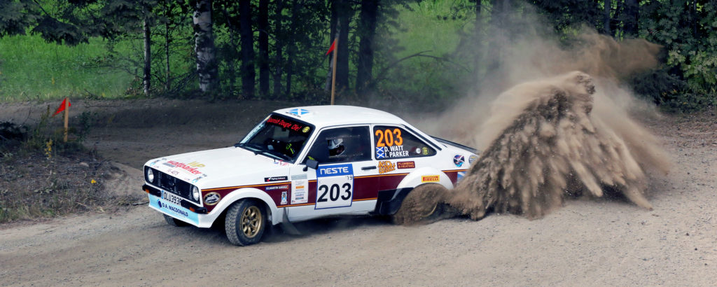 Argyll duo fast and furious in Finland
