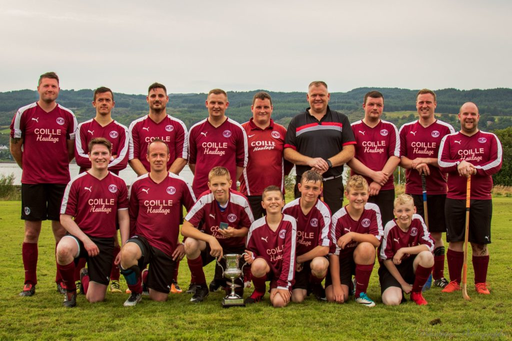 Kilmory win league after tight decider
