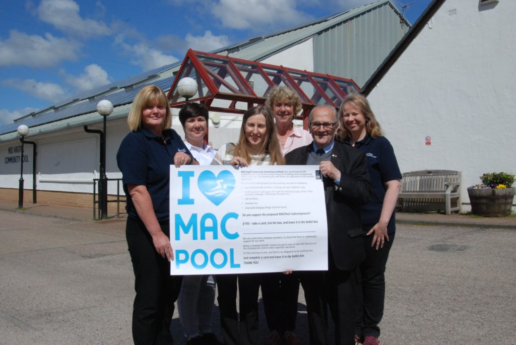 Mid Argyll pool extension gets green light