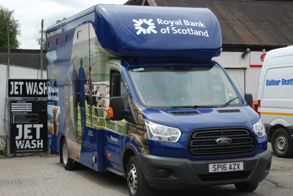 RBS goes AWOL in Inveraray