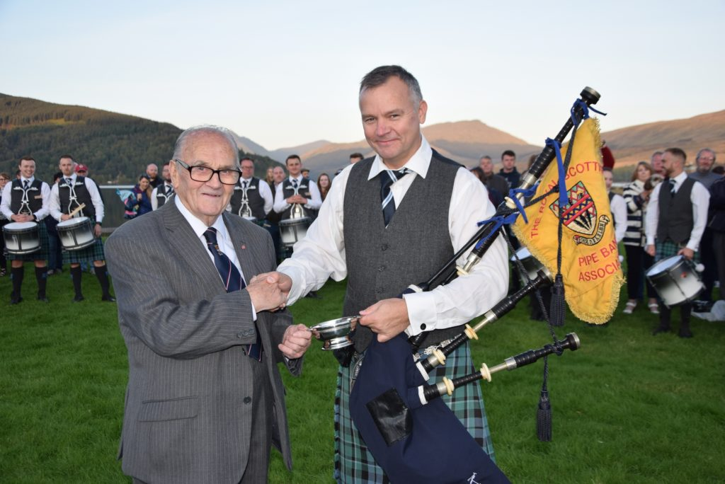 'Thanks, Inveraray – we couldn't have done it without you'