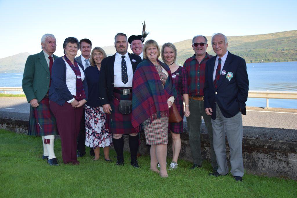 Clan Lindsay invades Inveraray