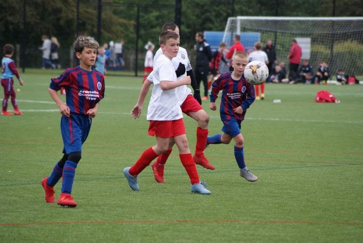 Young footballers raise cash to go Dutch