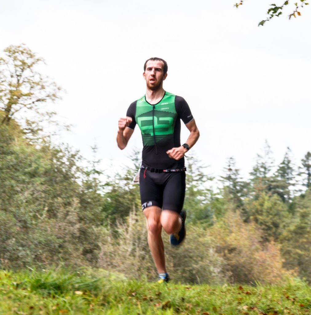 Graeme shatters record in triathlon for all ages