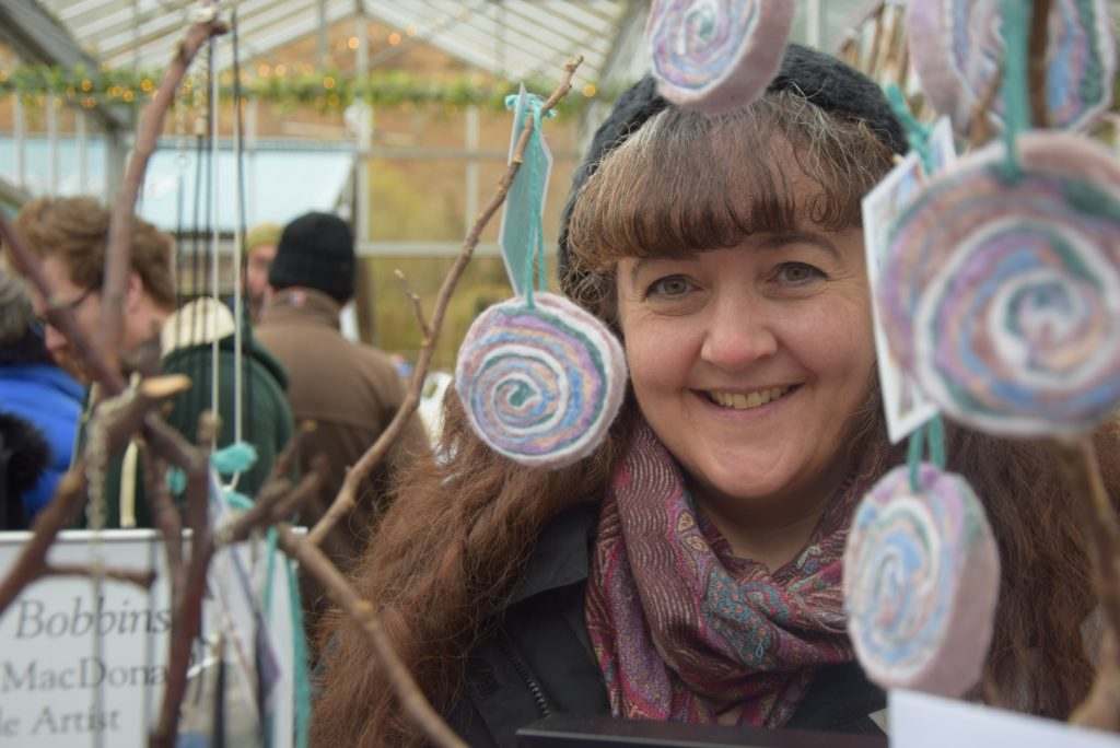 Tree shop branches out for Christmas craft fair