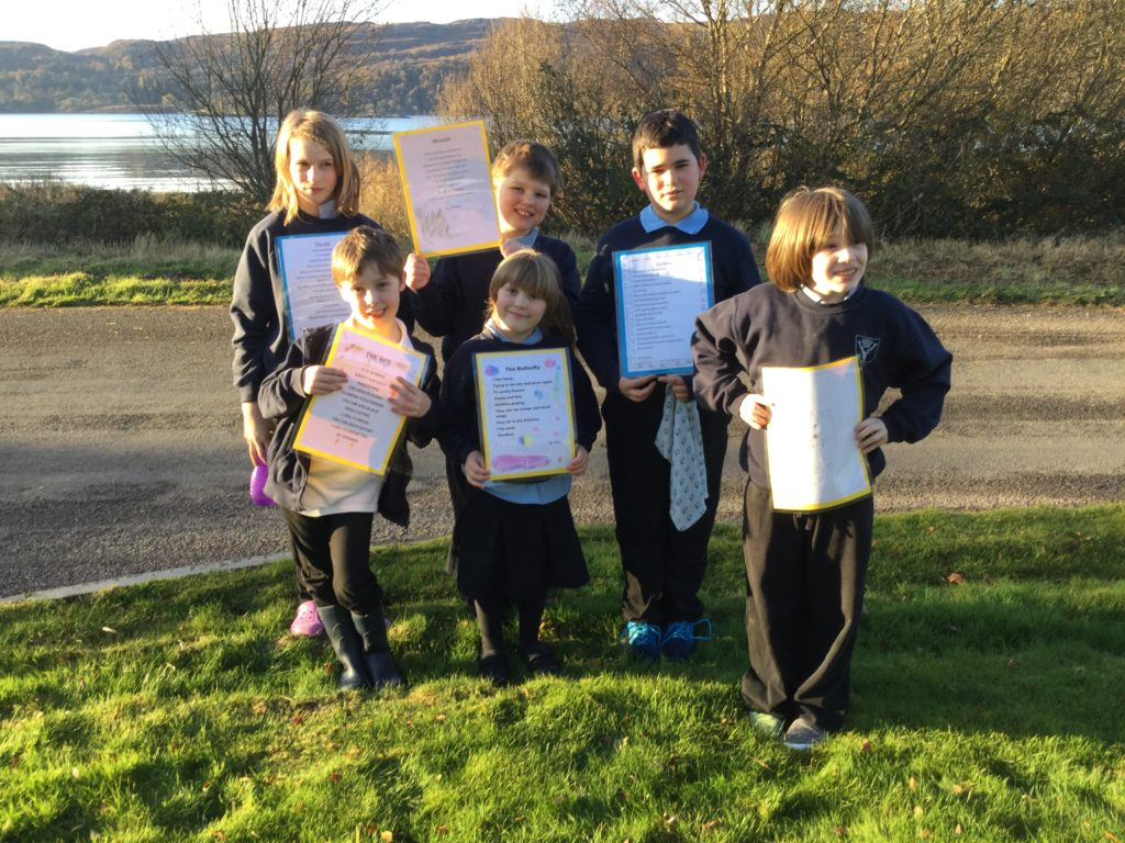 Primary pupils become poetry authors
