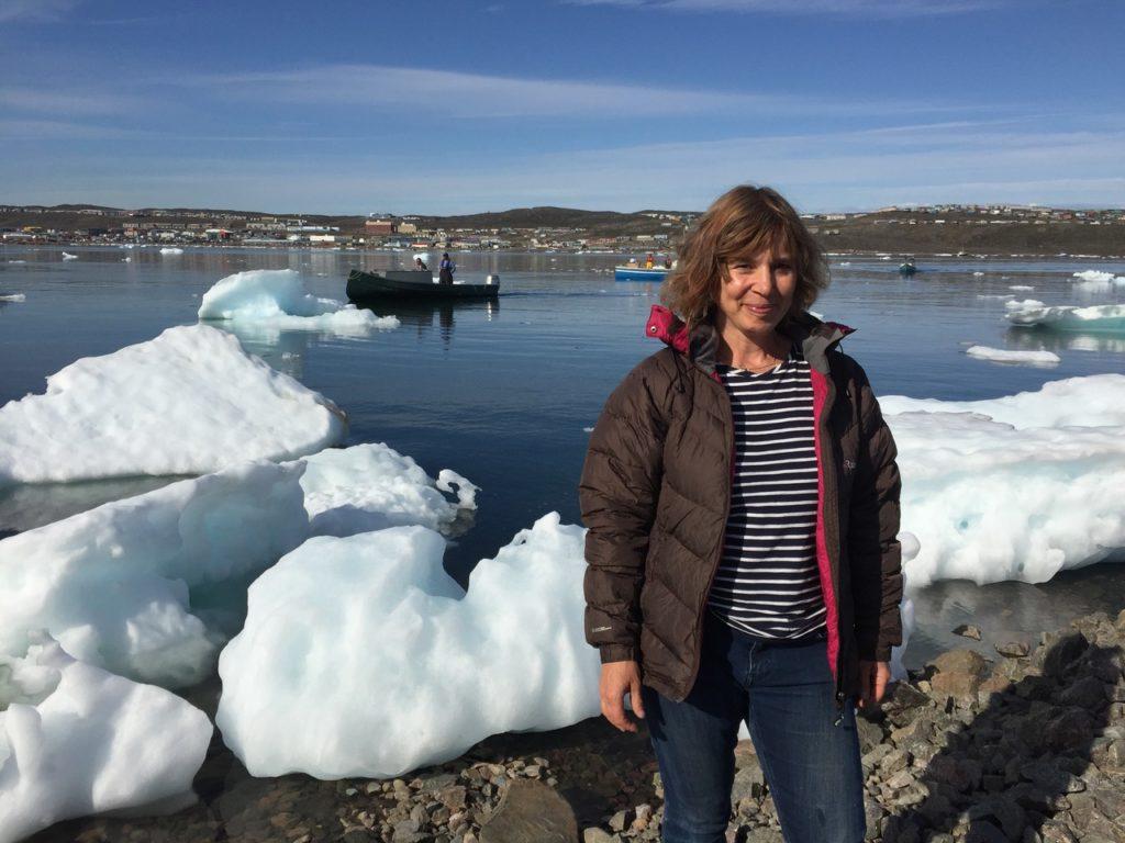 Lesley's artistic Arctic adventure inspires exhibition