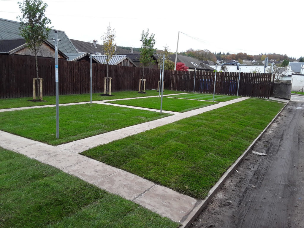 ACHA improves outside environment in Lochgilphead