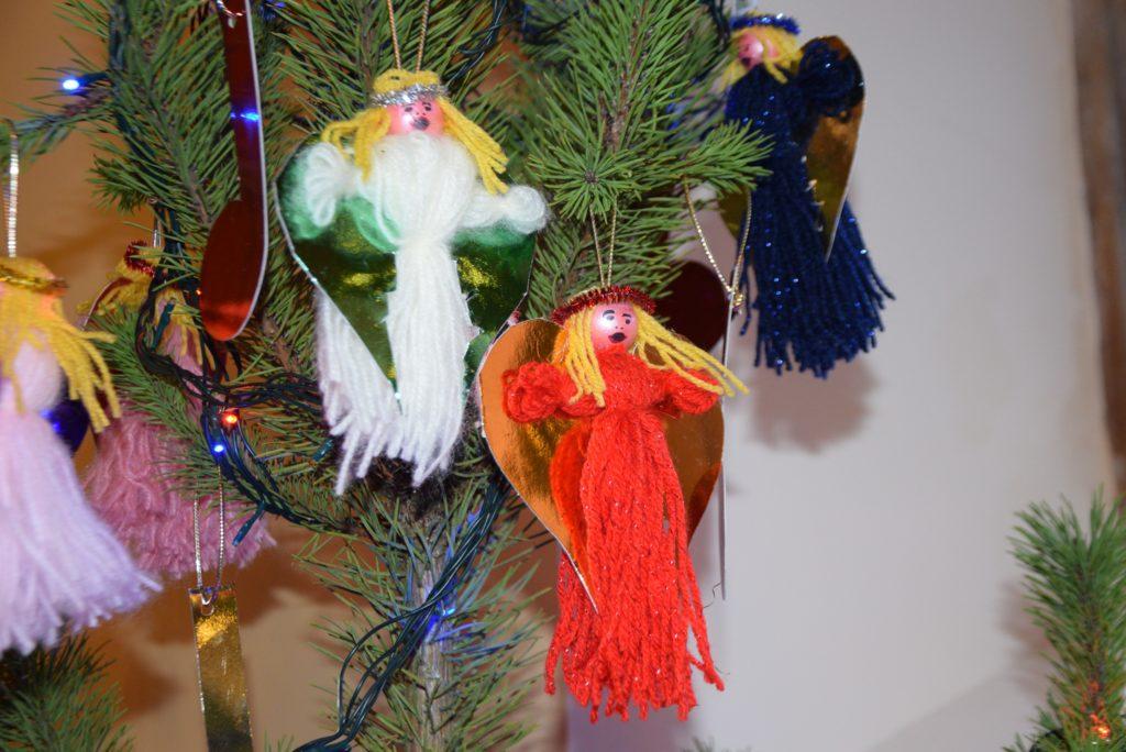 A garden of festive delight