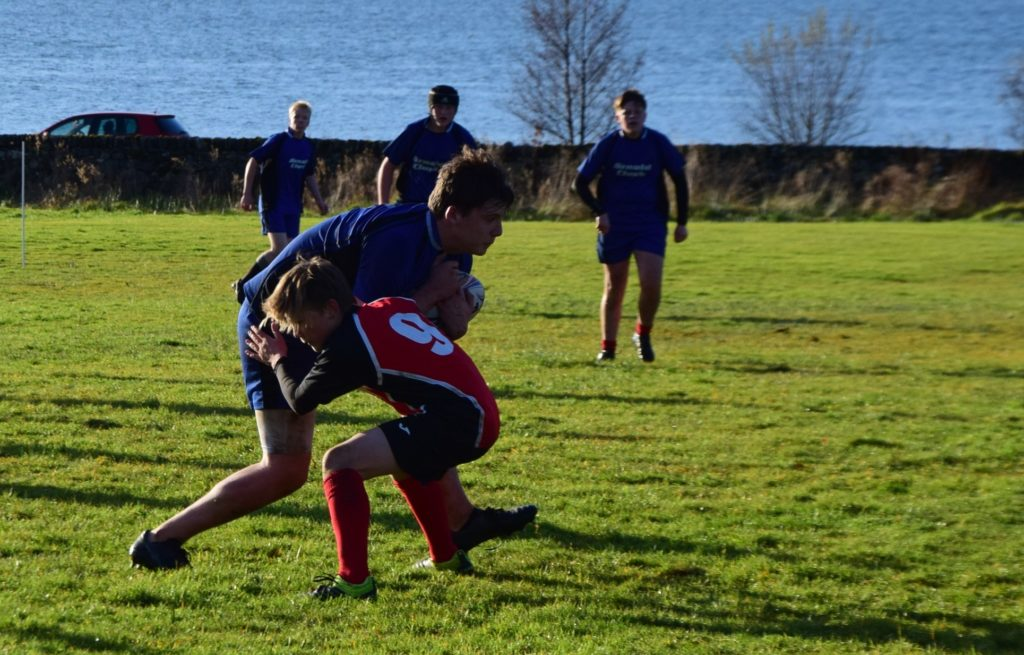 South Argyll Schools dig out hard-fought win