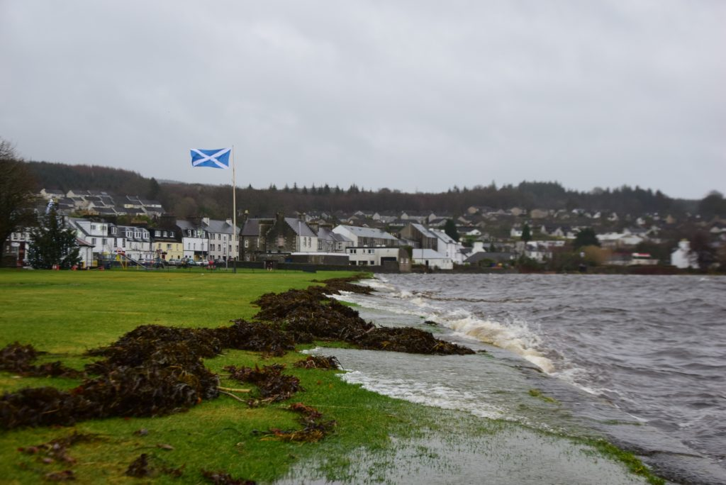 Stormy Argyll weather to subside for polling day