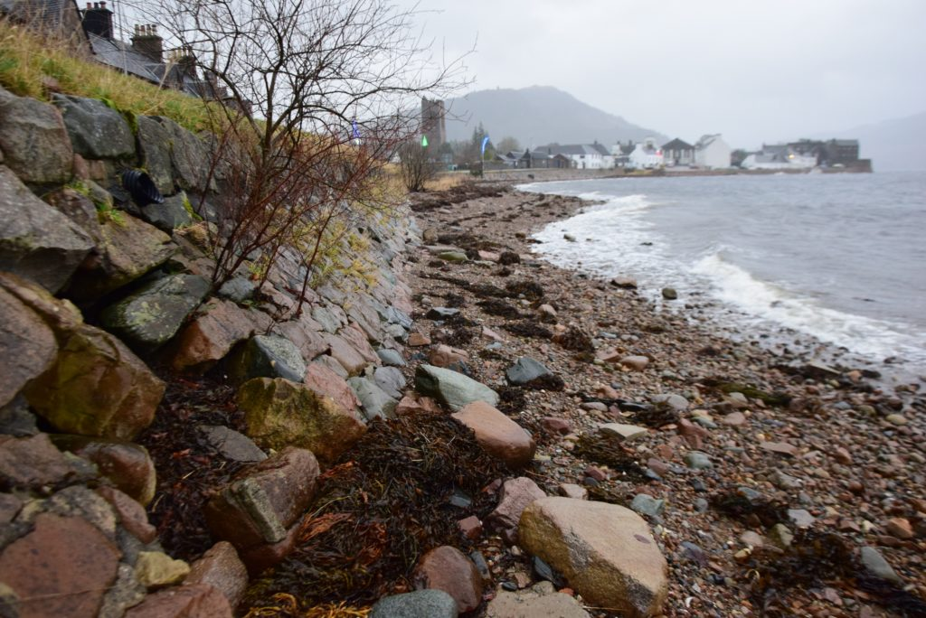 Inveraray's wall to Loch Fyne in need of attention